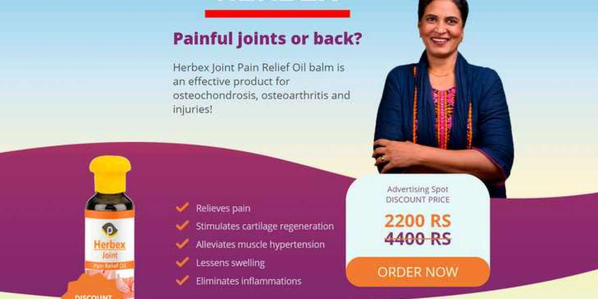 Herbex Joint - Helps To Provide Relief From Joint Pain & Swelling!