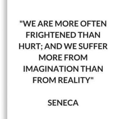 SENECA Stoic Philosophy Quote Canvas Print by IdeasForArtists Profile Picture