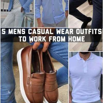 5 Men's Casual Wear Outfits to Work From Home Profile Picture