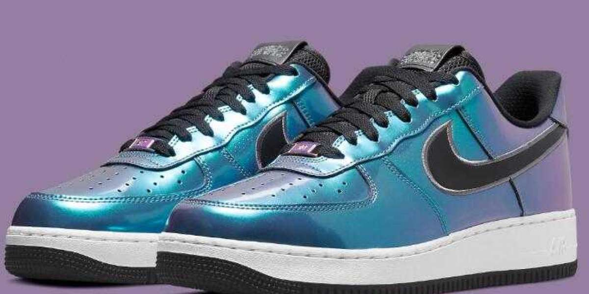 Nike Air Force 1 Low Iridescent Coming With HTML Code