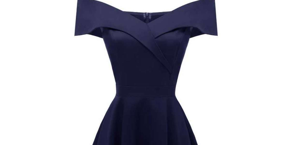 Trend Alert! It's All About Navy Blue Dresses