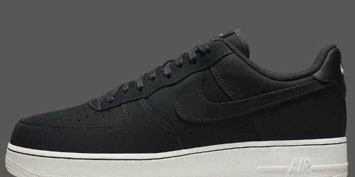 Cheap Nike Air Force 1 Low Releasing With Nubuck Off Noir