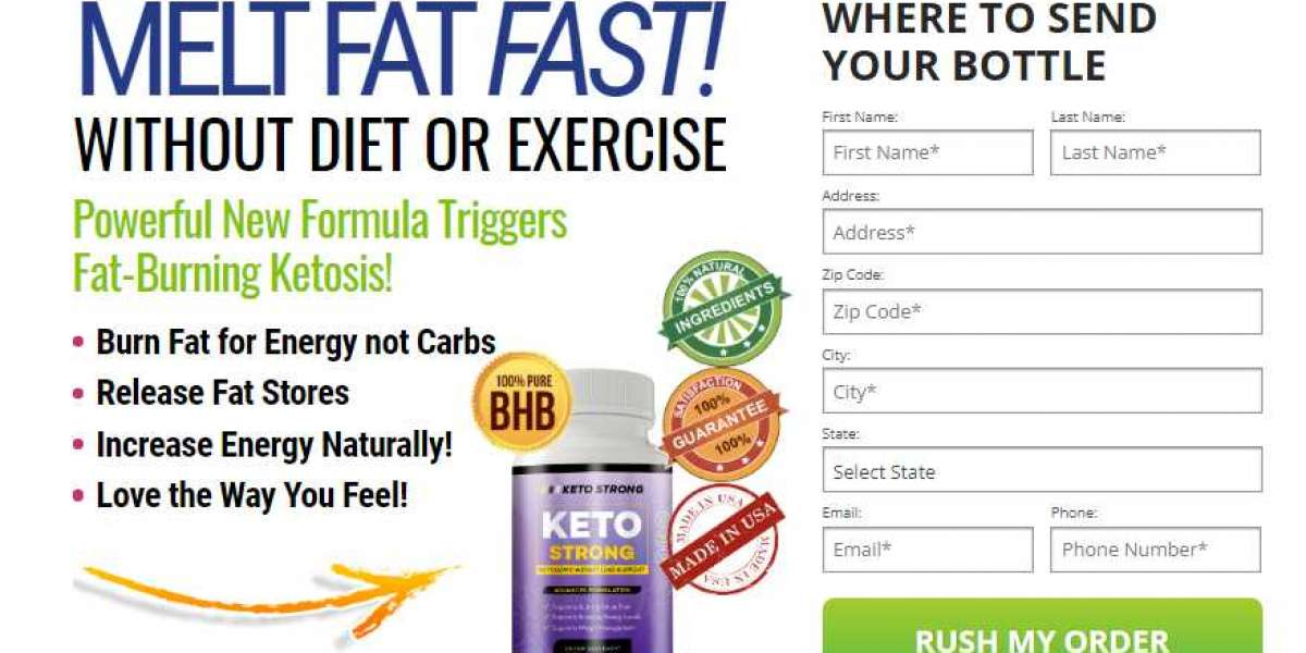 Keto Strong Pills, Shark tank, Price, Side Effects