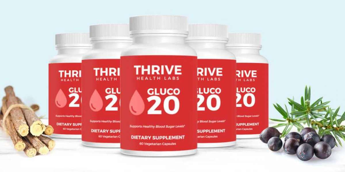 Thrive Health Labs Gluco20: Potent, Powerful Herbs And Extracts