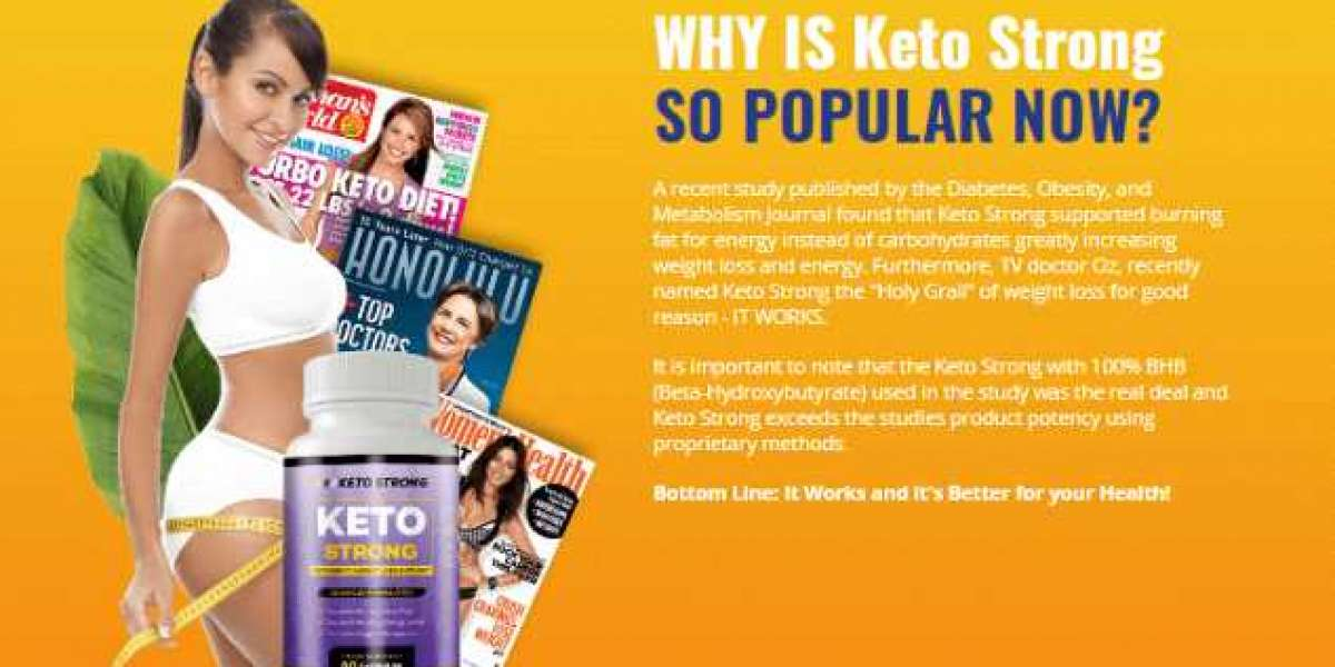 Keto Strong - Reduce Excess Belly Fat Get Healthy Life!